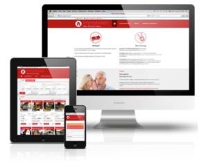 Homepage für Immobilienmakler by KRquadrat