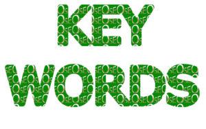 Schlüsselwörter (Keywords)